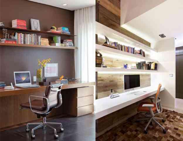 Espaço com possibilidade de se tornar área destinada ao home office passou a ser uma das necessidades capazes de influenciar na compra de um imóvel  - Komunic/Divulgação