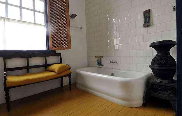 Elizabeth Bishop mandou vir a banheira de um hotel dos Estados Unidos - Maria Tereza Correia/EM/D.A Press