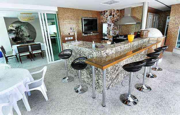 Área em casas também é valorizada, com acabamento de bom gosto e funcional - Juarez Rodrigues/EM/D.A Press - 5/7/13