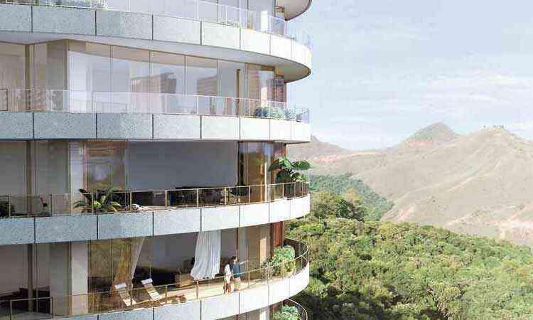 Residencial do Grupo EPO, no Vale do Sereno, respeita cota mínima de ocupação urbana - EPO/Divulgação