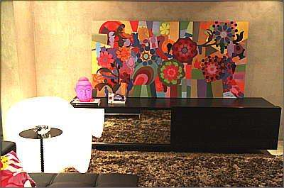 Ambientes com estilos múltiplos fazem parte das recomendações dos especialistas, que apostam em cores, texturas e formas geométricas - Gladyston Rodrigues/Esp.EM