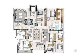 Cobertura, 4 Quartos, 5 Vagas, 4 Suites em Noroeste, Brasília/Plano Piloto, DF valor de R$ 6.000.000,00 no Lugar Certo