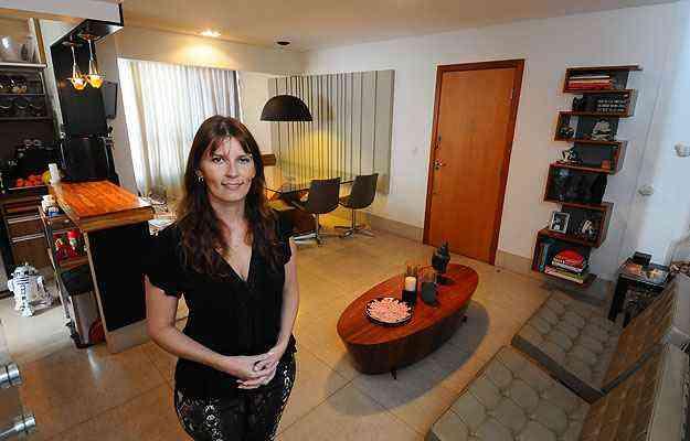 Arquiteta Luciana Andrade teve o desafio de melhorar a sensação de amplitude - Euler Junior/EM/D.A Press