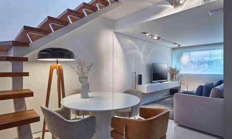 Nos projetos desenvolvidos pelo escritório Bellini Arquitetura e Design, a utilização de lâmpadas de LED é indispensável - Jomar Bragança/Divulgação