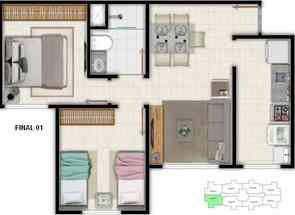 Apartamento, 2 Quartos, 1 Vaga em Quadra Qs 408, Samambaia Norte, Samambaia, DF valor de R$ 205.000,00 no Lugar Certo