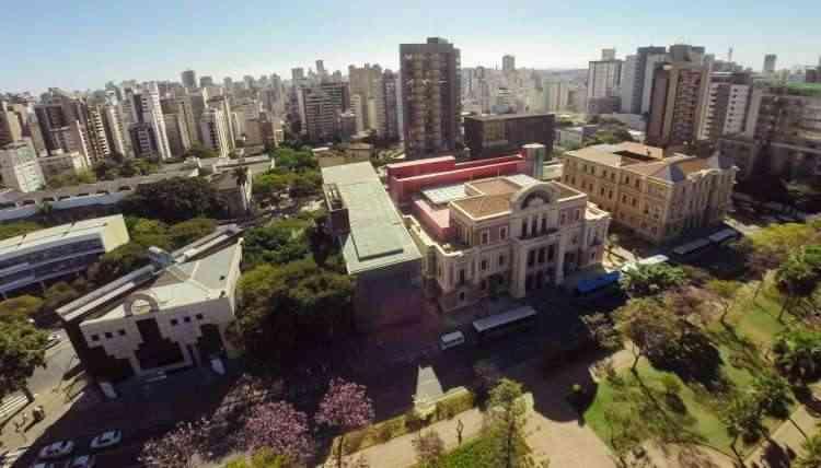 Circuito Cultural da Praça da Liberdade é um dos principais destaques do Funcionários - Acervo Circuito Liberdade Iepha - MG/Divulgação