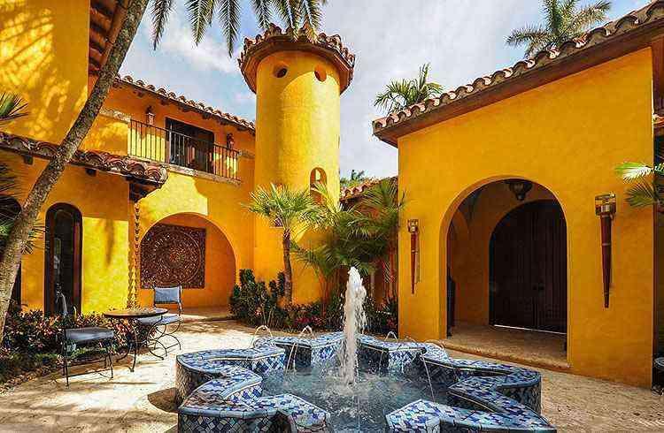 A ex-morada do espanhol está em um dos mais caros endereços do mercado local - Kevin Luna Studios LLC/Divulgação