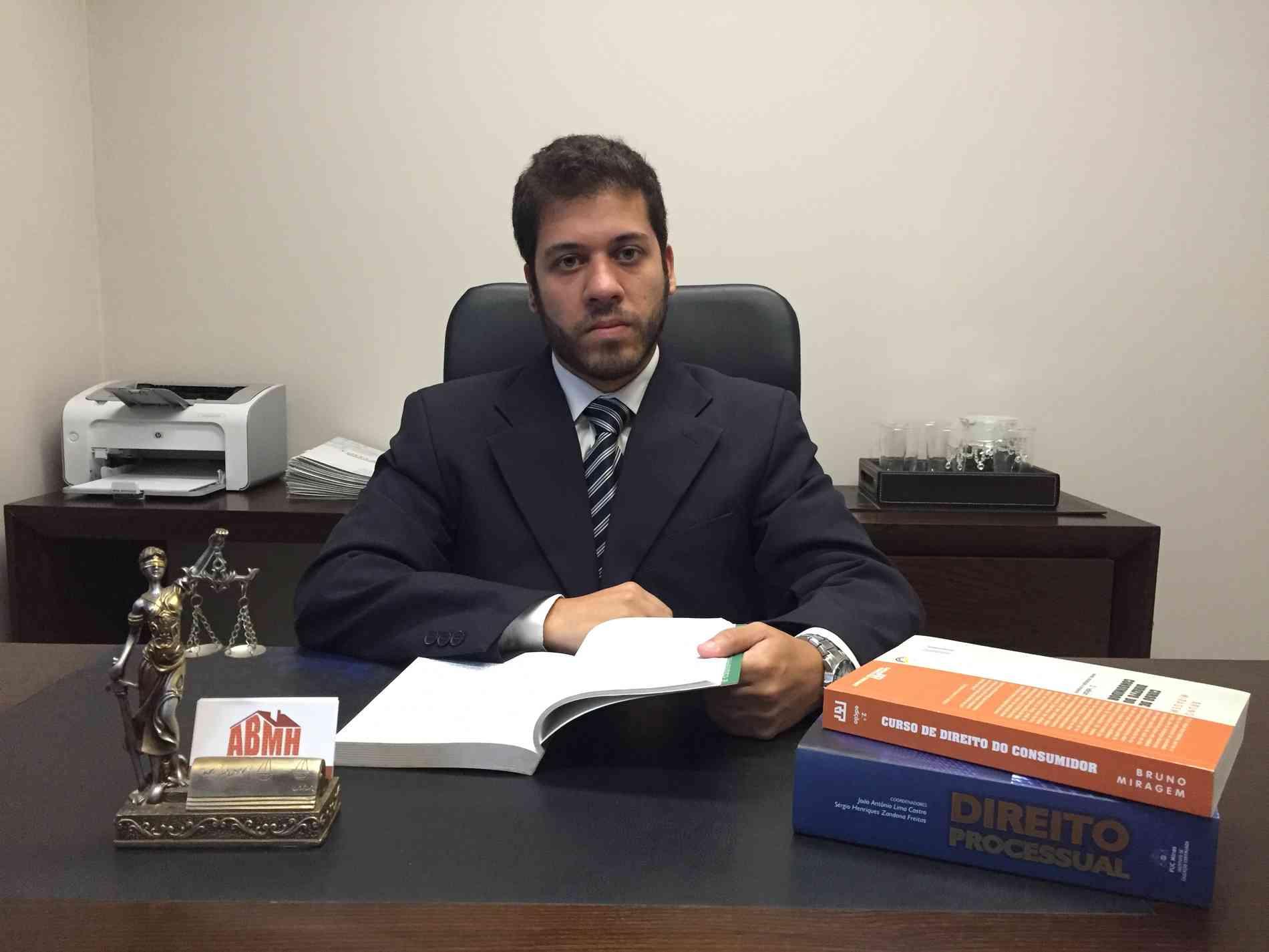 Vinícius Costa, presidente da Associação Brasileira dos Mutuários da Habitação (ABMH) e especialista em direito imobiliário - Arquivo pessoal