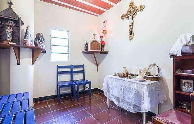 No cantinho da fé, a espera é pela nova composição da capela - Osvaldo Castro/Divulgação