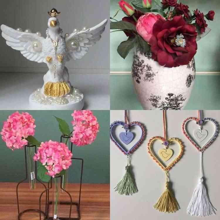 É tempo de flores e muito romantismo na Aluízio Casa - Carlos Altman/EM/D.A Press
