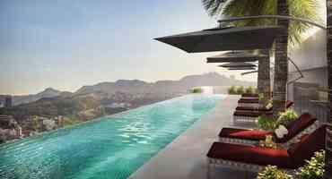 Empresas apostam em verdadeiras mansões em edifícios