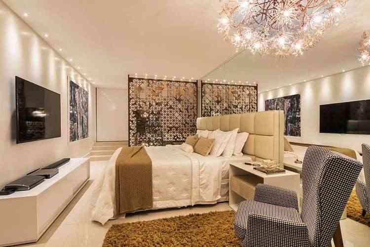 Mantas, tapetes felpudos e iluminação quente deram um charme ao projeto da arquiteta Isabella Magalhães - Leonardo Cabral/Divulgação