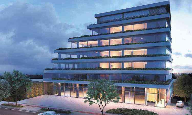 Veredas Empresarial, do Grupo EPO, foi um dos vencedores da premiação de arquitetura do IAB/MG - Grupo EPO/Divulgação