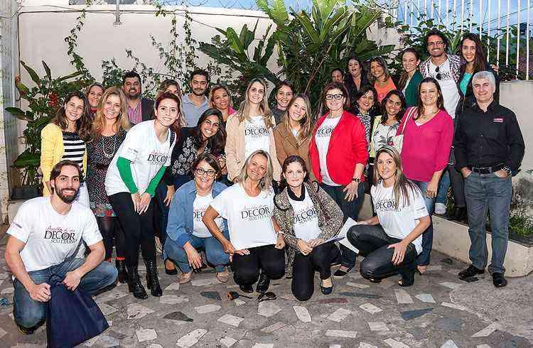 Time de arquitetos, decoradores e empresas parceiras está doando tempo e trabalho para revitalizar a instituição  - Osvaldo Castro/Divulgação