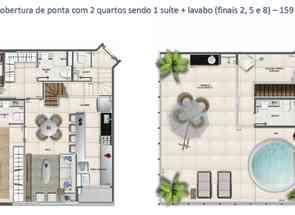 Cobertura, 2 Quartos, 2 Vagas, 1 Suite em Sqnw 107, Noroeste, Brasília/Plano Piloto, DF valor de R$ 1.450.000,00 no Lugar Certo