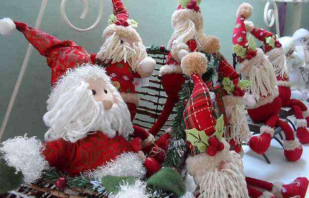 Na Aluízio Casa, o Papai Noel vai de R$ 12 a R$ 130 - Carlos Altman/EM/D.A Press