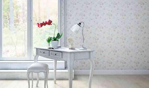 A linha Provenzale usa texturas e acabamento acetinado, que resultam em efeito semelhante ao de papel de parede  - Biancogres/Divulgação
