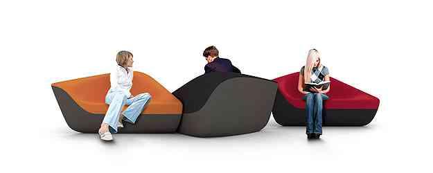 Poltronas Seating Stones - Link Comunicação/Divulgação