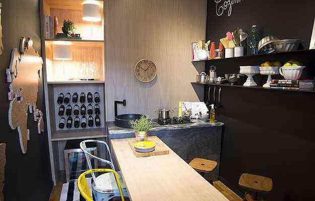 O Atelier da Cozinheira é uma ambientação criativa para quem faz da gastronomia uma diversão - Thiago Ventura/EM/D.A Press