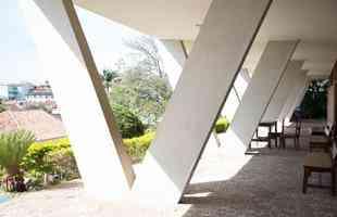 Hotel Tijuco (1951) em Diamantina-MG. Projeto de Oscar Niemeyer - Foto: Thiago Ventura/EM