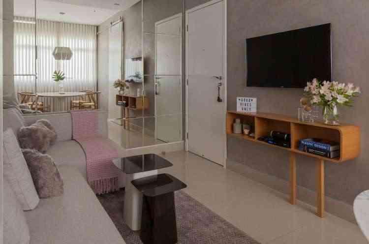 Espaços pequenos podem ser bem aproveitados em projetos de decoração - Henrique Queiroga/Divulgação