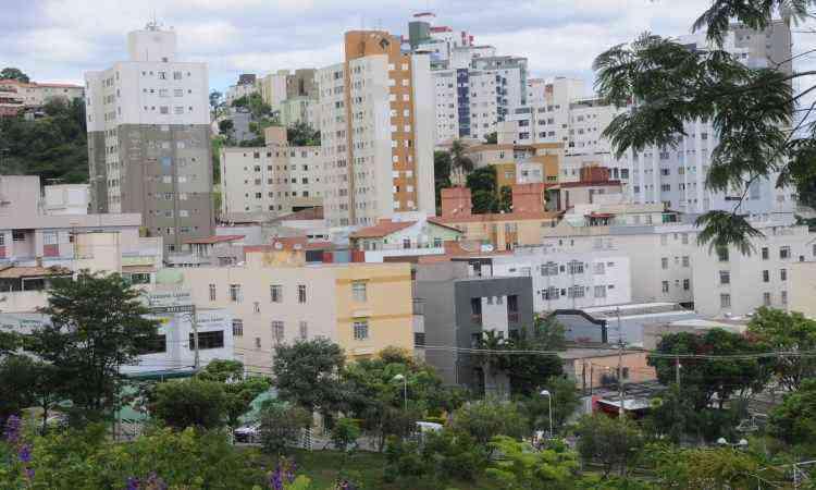 Vista parcial do bairro, ocupado a partir de construção de conjunto habitacional - Beto Novaes/EM/D.A Press