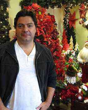 Alexandre Maia diz que trabalha com o Natal durante todo o ano - Joana Gontijo/Portal Uai/D.A Press