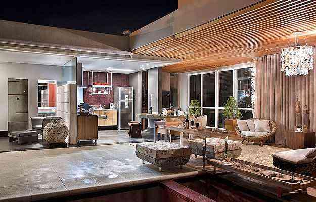 Alguns detalhes podem tornar esses espaços ainda mais propícios à interação entre os convidados, como neste projeto de Valéria Leão e Marli Viana - Divulgação/Dekor Design
