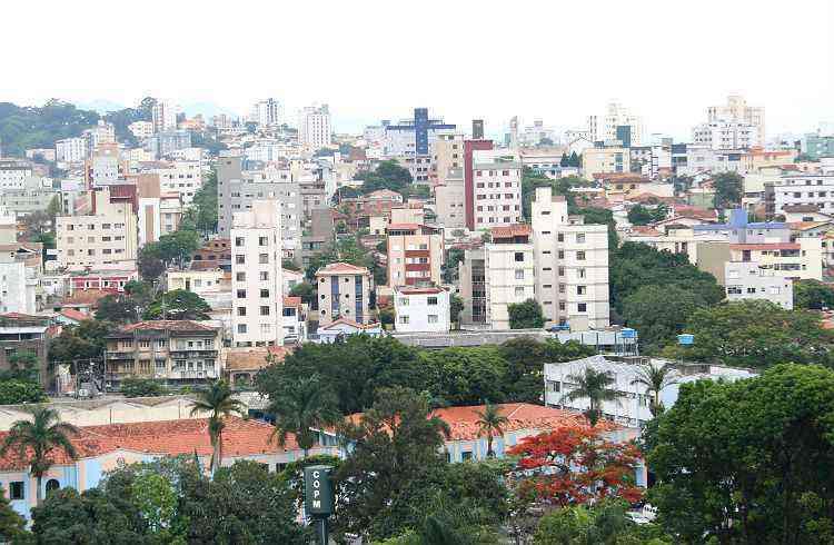 Bairro atrai moradores em virtude da infraestrutura completa e várias vias de acesso - Gladyston Rodrigues/EM/D.A Press-5/11/08