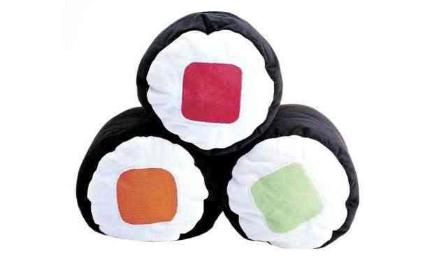 Almofada rolls da Shoyu (R$ 45, cada) - Divulgação/Shoyu