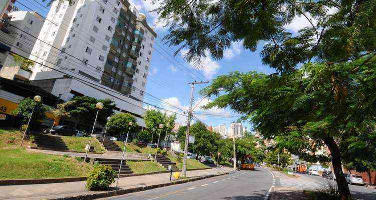 Região de fácil acesso, chega-se ao Grajaú pelas avenidas Amazonas, Francisco Sá, Contorno e Barão Homem de Melo - Euler Junior/EM/D.A Press