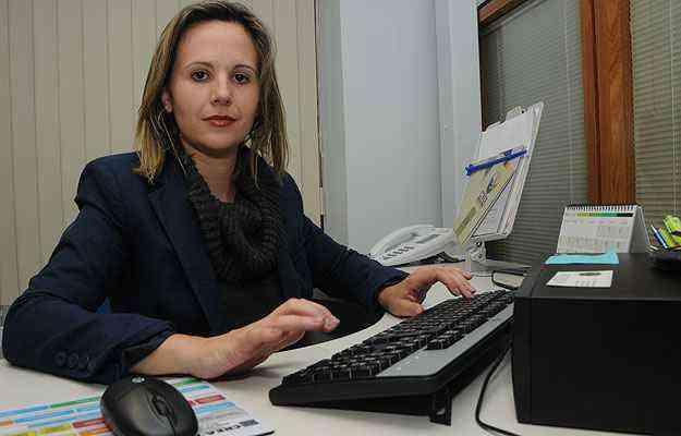 Responsável pela Central de Conciliação da CMI/Secovi-MG, a advogada Camila Linhares lembra que as partes têm autonomia para decidir - Paulo Filgueiras/EM/D.A Press