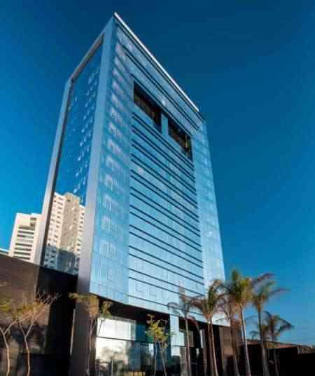 O The Plaza, da Patrimar Engenharia, contempla uma arquitetura altamente tecnológica - Daniel Mansur/Divulgação
