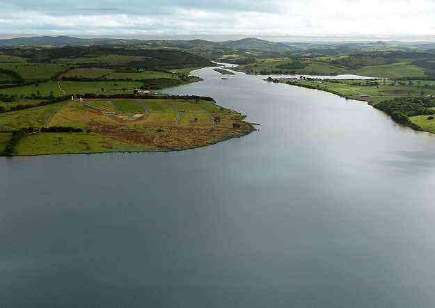 Lançado recentemente, o Condomínio Riviera do Lago, às margens da represa, ocupa cerca de 250 mil metros quadrados -  Gustavo Ceccato/Divulgação