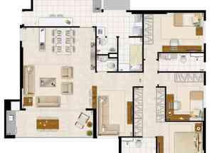 Apartamento, 4 Quartos, 2 Vagas, 2 Suites em Avenida Araucárias, Norte, Águas Claras, DF valor de R$ 850.000,00 no Lugar Certo