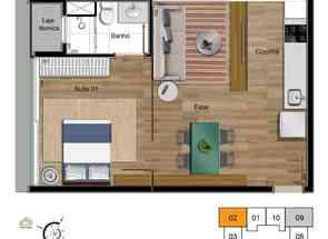 Apartamento, 1 Quarto, 1 Vaga em Qe 05 Guará I, Guará I, Guará, DF valor de R$ 312.000,00 no Lugar Certo