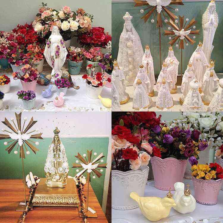 Linha sacra criada por Aluízio é outro destaque para o Dia das Mães - Aluízio Casa/Divulgação