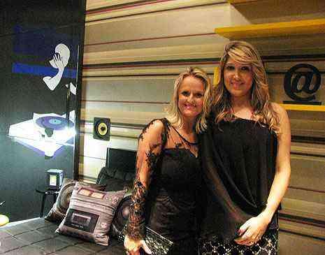 No Quarto do Rapaz, Cris Terra e Claudia Zocoli apresentam um local dedicado à música - Joana Gontijo/Portal Uai/D.A Press