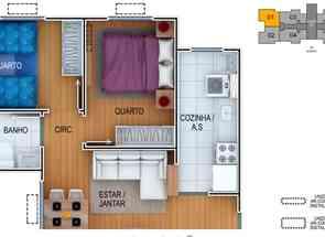 Apartamento, 2 Quartos, 1 Vaga em Quadra Qnm 29, Ceilândia Sul, Ceilândia, DF valor de R$ 246.000,00 no Lugar Certo