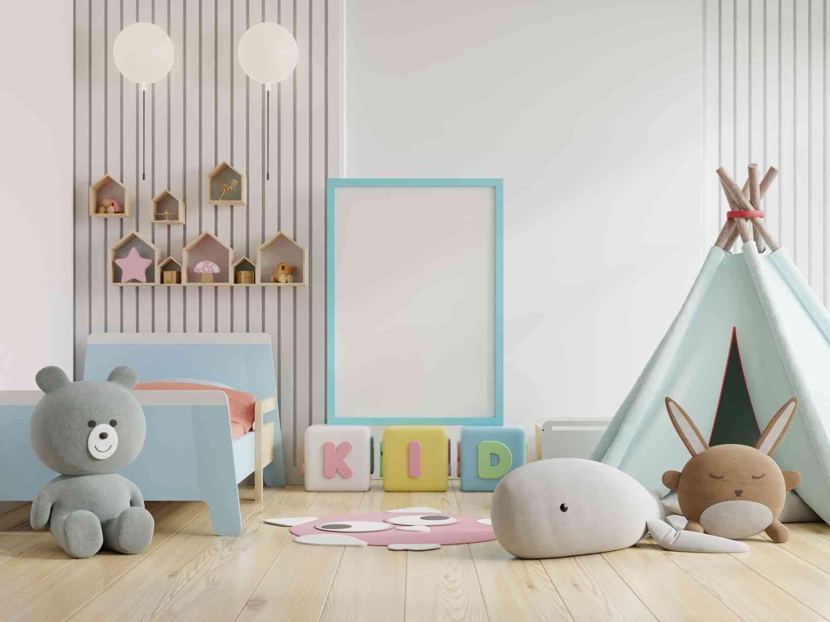 Temas para quarto de bebê - Freepik