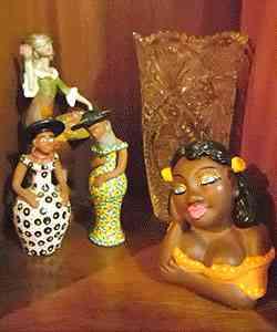 Bonecas artesanais compradas no Nordeste e em Pirenópolis - Lugar Certo