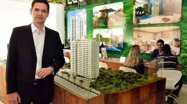 Rodrigo Resende, diretor de marketing e vendas da MRV Engenharia - Eduardo Almeida/RA Studio