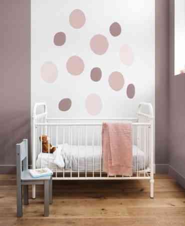 A cor adorno rupestre é ótima opção para o quarto do bebê - Coral/Divulgação