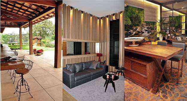O produto natural pode ser usado com elegância de áreas externas e de lazer aos tradicionais móveis internos. Até como revestimento de paredes o material mantém o charme e a sensação de conforto - EDUARDO ALMEIDA/RA STUDIO