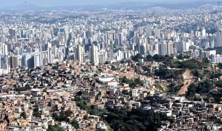 Projeto de lei pretende direcionar a expansão da cidade para áreas de maior capacidade de suporte  - Jair Amaral/EM/D.A Press