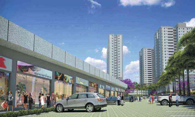 Central Park Shopping & Residence - Concreto Engenharia/Divulgação