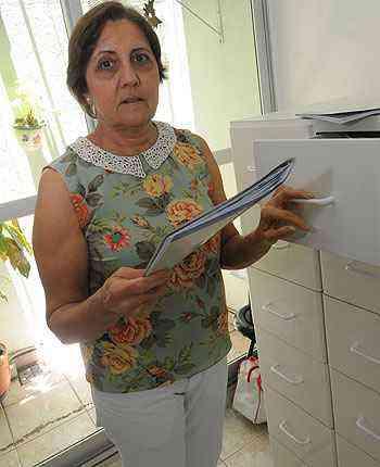 Sandra Mattos, síndica do Edifício Big Center Empresarial, trabalha em parceria com uma administradora e conseguiu vencer a inadimplência  - Cristina Horta/EM/D.A Press