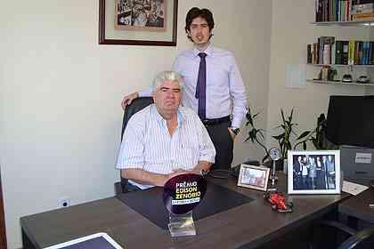 Para o fundador da Residencial, Francisco Antônio de Oliveira, e o diretor Mateus de Oliveira, a conquista colocou a empresa em outro patamar - Divulgação