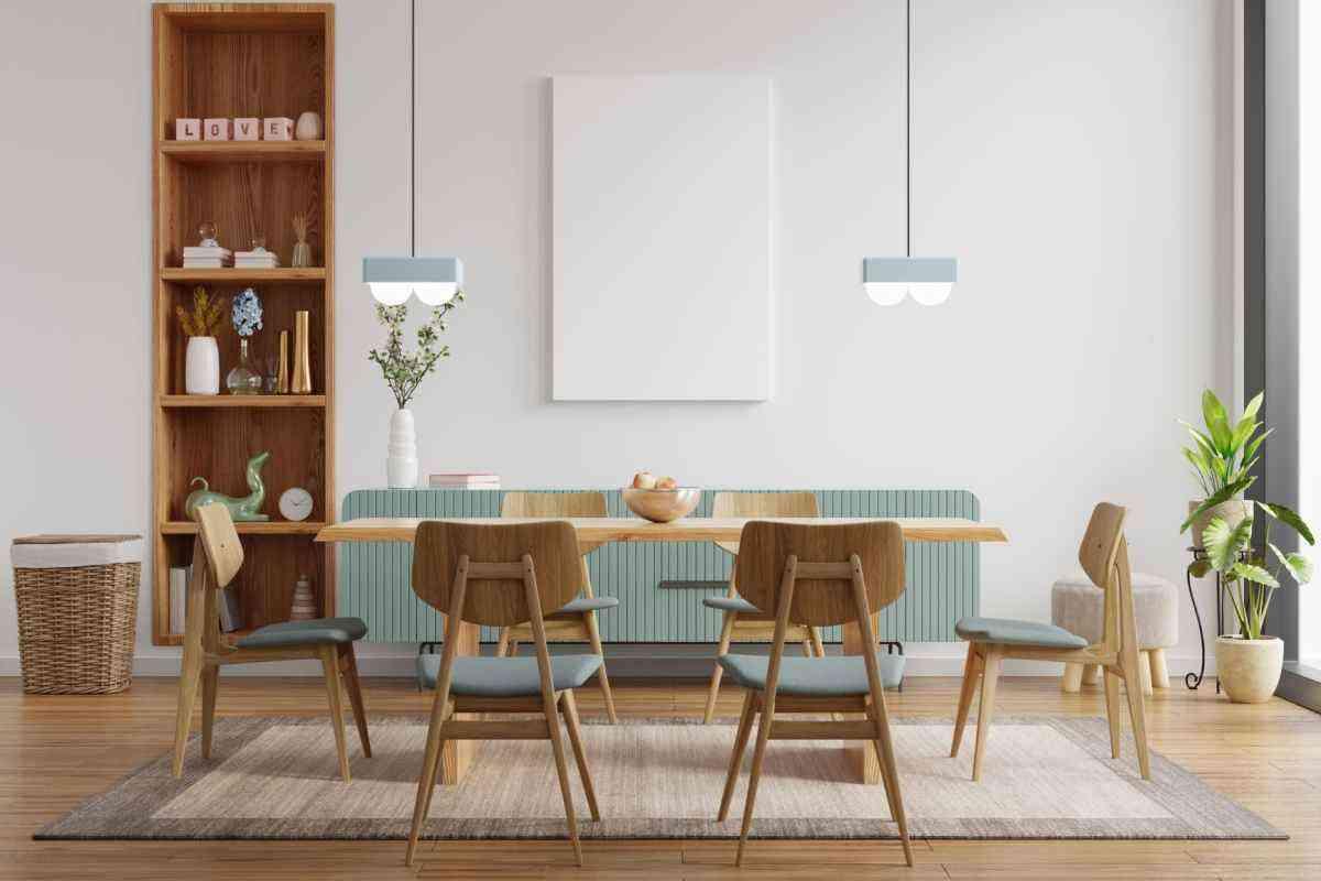 Sala de jantar decorada - Freepik