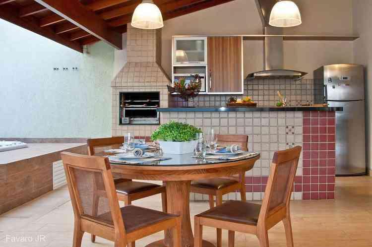 Cozinha com churrasqueira - Flickr